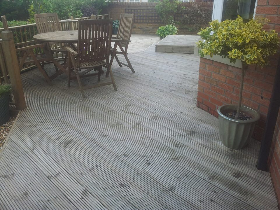 Decking Cleaning Glasgow - East Kilbride