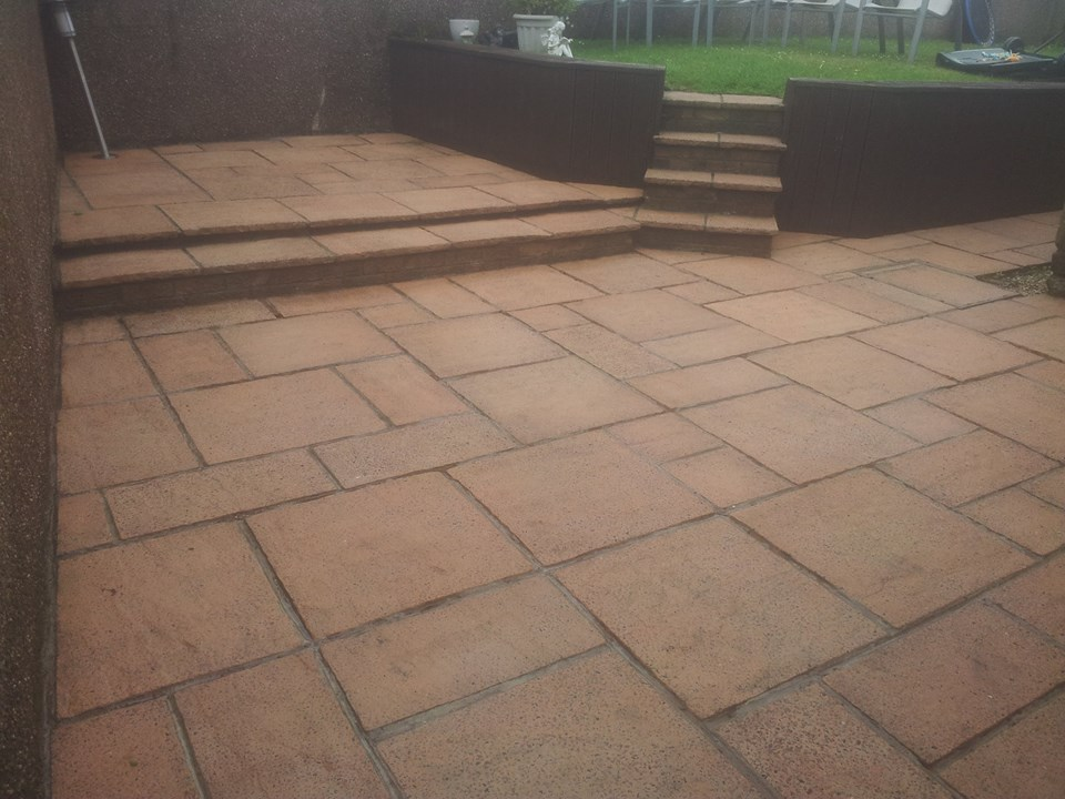 Patio Cleaning Glasgow - Barrhead Clean