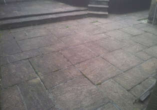 Pressure Washing Glasgow - Barrhead Patio Cleaning Dirty