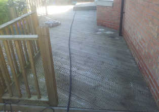Pressure Washing Glasgow - Decking Cleaning Motherwell